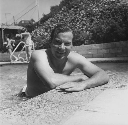 William Shatner - Vintage- In the Pool