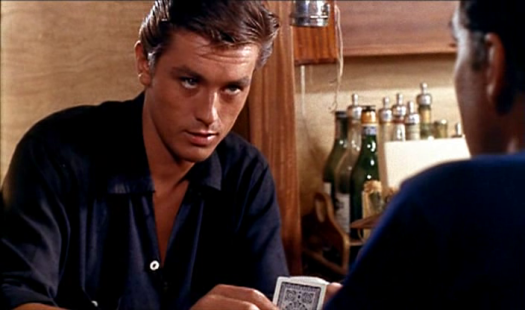 Alain Delon as Tom Ripley - la pleine soleil