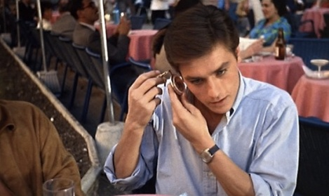 Alain Delon- Purple Noon - I like your watch it would look better on me