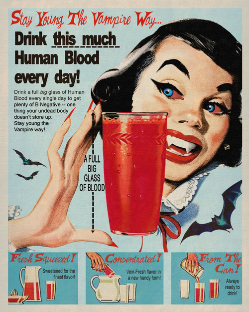 eof - drink this much human blood everyday