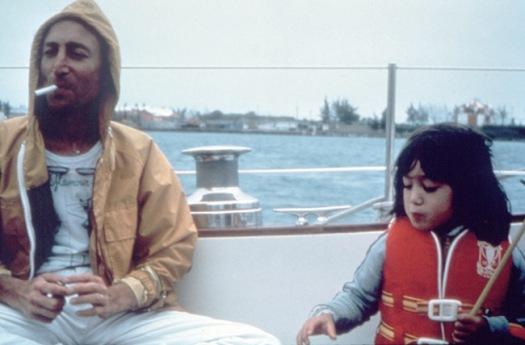 EOF- John Lennon with Baby Sean Lennon- Vintage