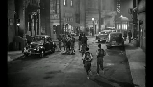 eof style wise- street wise - gang lord style - crime in the streets 1956