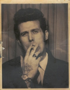 EOF- Vintage Teddy Boy Photo Booth Portrait - Pomp and Circumstance