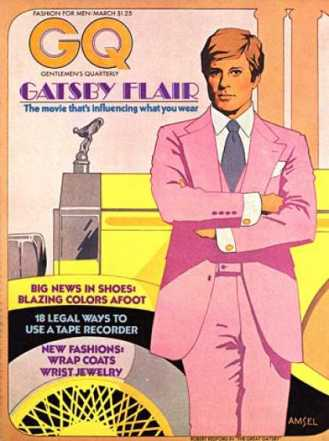 GQ The Great Gatsby 1974 Cover