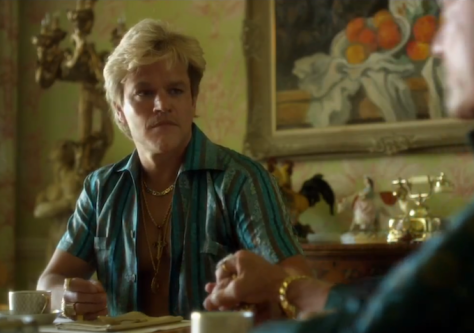 matt damon as scott thorson in behind the candelabra - vintage inspiration