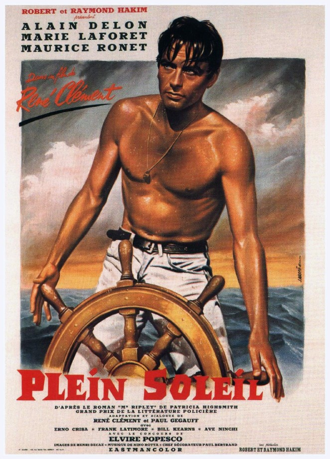 Purple Noon Vintage Poster 1960
