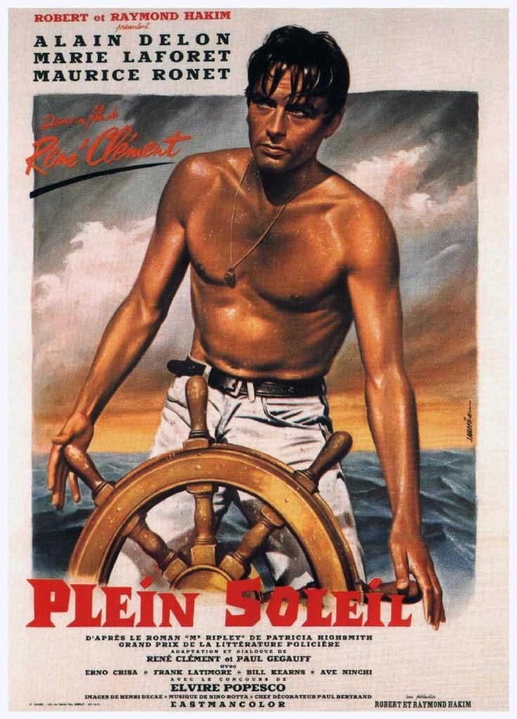 Purple Noon Vintage Poster 1960