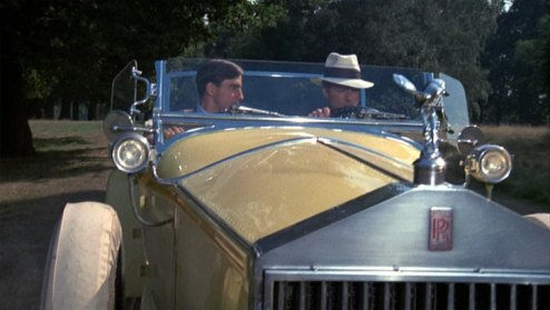 robert redford- the yellow car- the great gatsby 1974