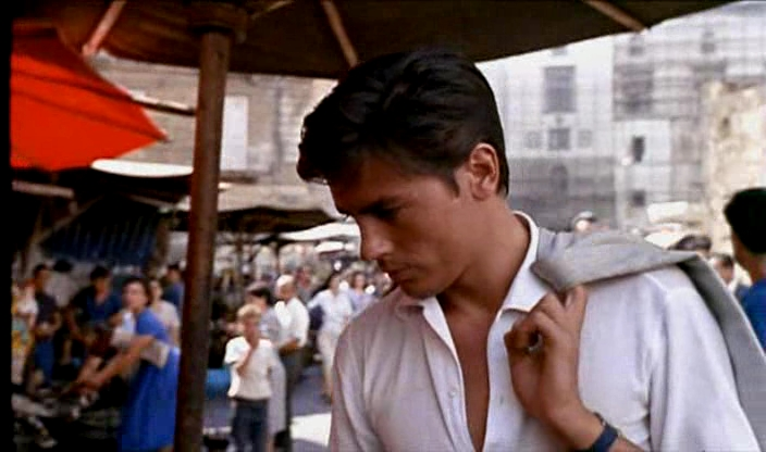 Summer Whites- Alain Delon in Purple Noon 1960