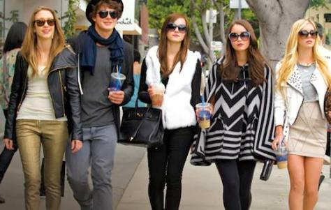 The bling ring gang