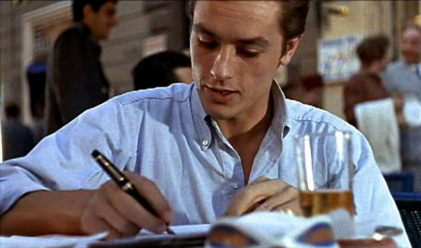 Tom Ripley Diary Entries - classic style seen in Purple Noon