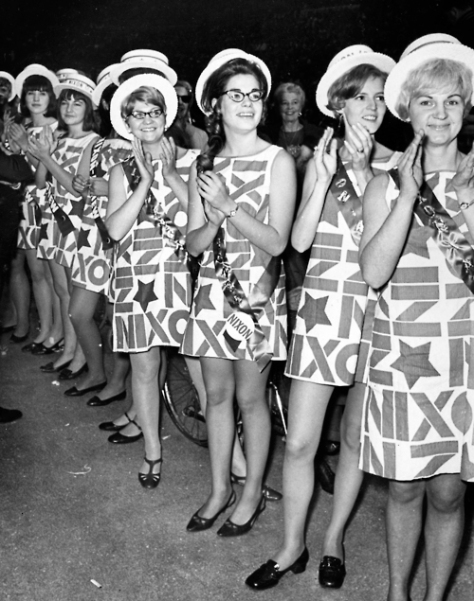 1960s- Nixon Fashion
