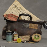 Mad Memories- Photographing Suitcases from New York State Mental Asylum