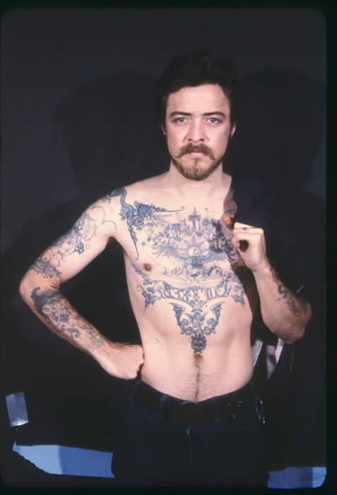 Bobby Beausoleil- Vintage- Tattooed King