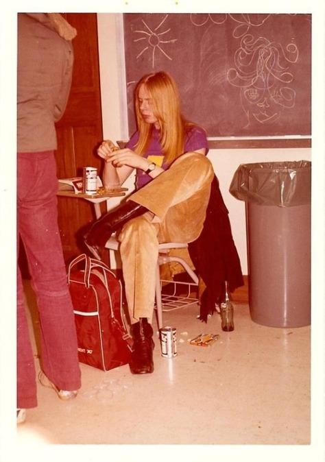 EOF- 1970s Snapshot Teen - Vintage Rebel Style