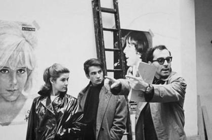 French New Wave- Godard Directs- Style Wise