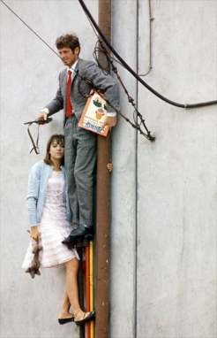 French New Wave- Godard- Vintage- Pierrot Le Fou