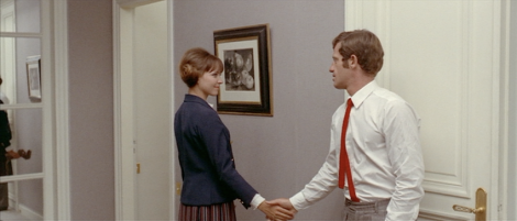 French New Wave- Minimal White Walls- Pierrot Le Fou- Godard- Vintage