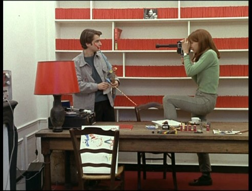 French New Wave- Vintage Style Inspiration- Red Books- Le Chinoises
