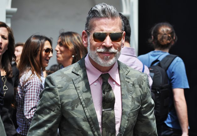 Mens Business Fashion- nick wooster- sartorially inclined