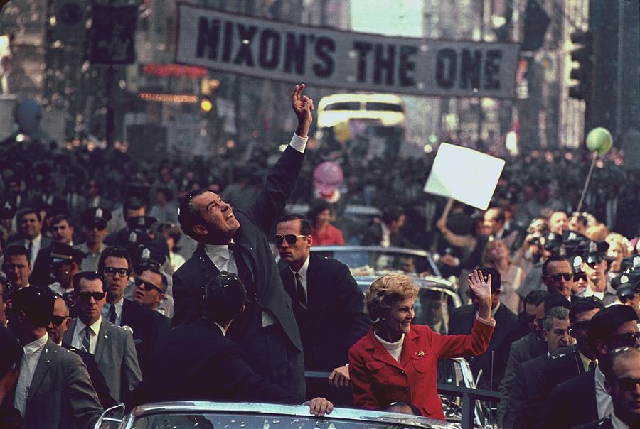 Nixon in 1968 - Victory Parade