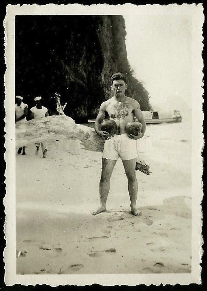 The Coconut Man- Paradise Lost- Vintage Vernacular- Style Inspiration