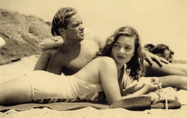 vintage surf photograph 1940s style - don james697