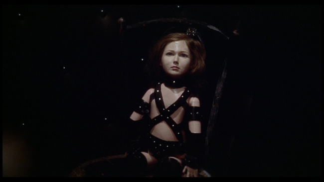 Baba Yaga 1973-creepy vintage bondage doll