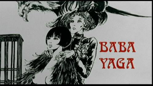 Baba Yaga 1973- illustrated title