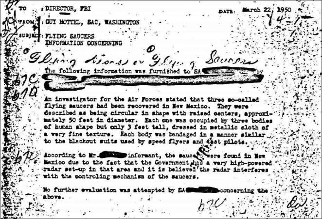 Classified Military Documents- Roswell- Proof