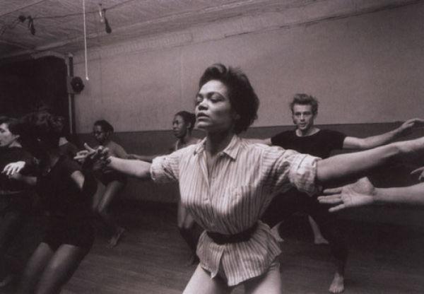 eartha kitt and james dean - katherine dunhams dance class