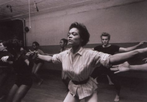 eartha kitt and james dean - katherine dunhams dance class