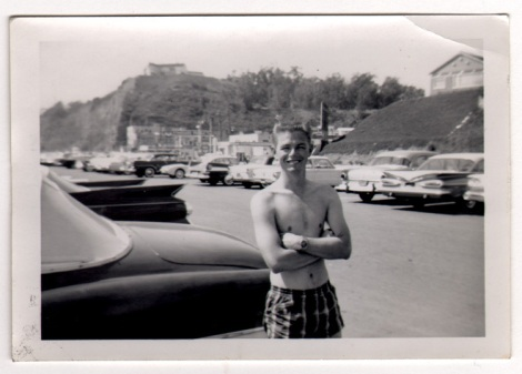 EOF Vintage Menswear- Summer Style - 1950s Surf Dude with Attitude- Swimwear