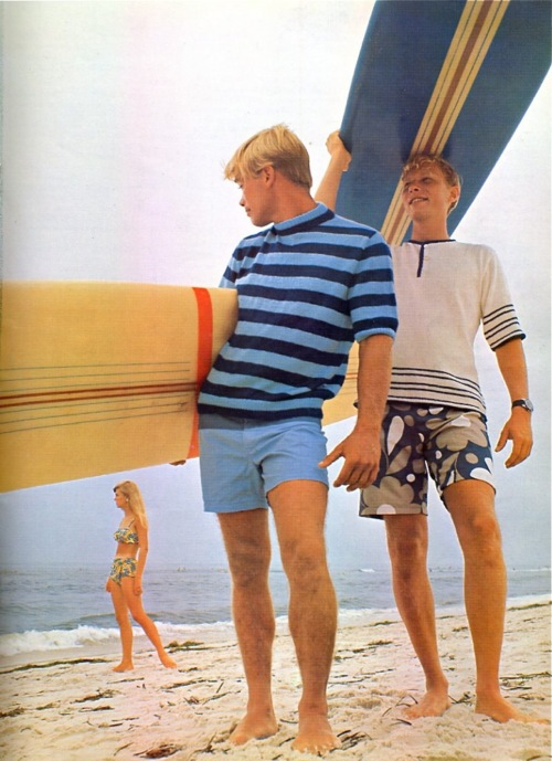 EOF Vintage Menswear- Summer Style - 1970s - Beach Stripes and Wild Florals - All American Dream