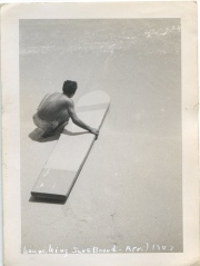 EOF Vintage Menswear- Summer Style - Launching Surf Board, April 1943
