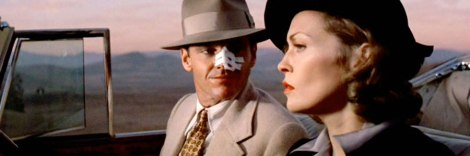 Evelyn and Jake Getaway- Jack Nicholson- Faye Dunaway- Vintage Style Supreme- The Eye of Faith