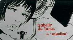 isabelle de funes as valentina- baba yaga 1973