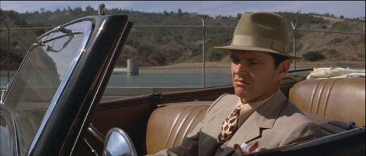 Vintage Menswear Inspiration - Chinatown (1974) - Jake Gittes:Jack Nicholson - bad ass