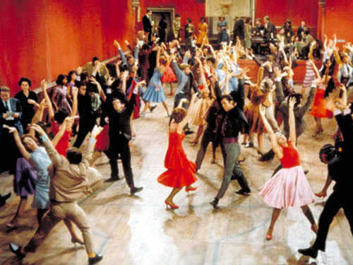 dance! style wise- west side story