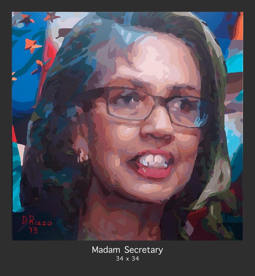 Madam Secretary by Donald Rizzo