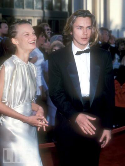 martha plimpton and river phoenix- academy awards- vintage style idol