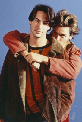 river phoenix and keannu reaves in my own private idaho- vintage style idol- the eye of faith