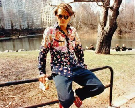 river phoenix- central park- my favourite look- vintage style idol- the eye of faith