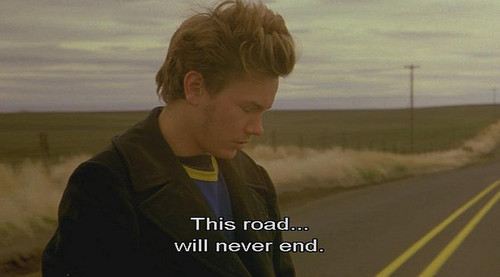 River Phoenix- This Road Will Never End....