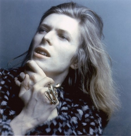 Young David Bowie- Hunky Dory- Long Hair