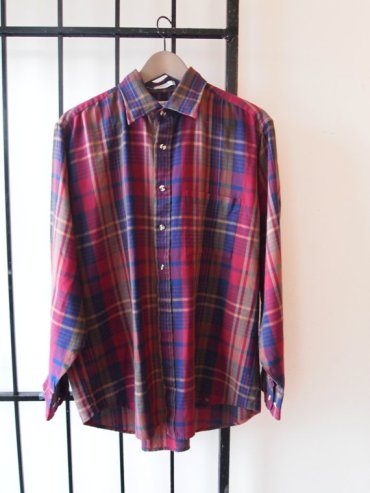 Arrow Sport Plaid Collared Dress Shirt