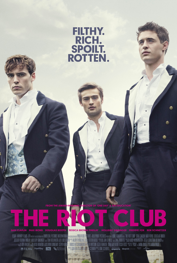 The Riot Club - Movie Poster - Secret Society Style- The Eye of Faith