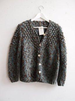 Vintage Hand Knit One of a Kind Grunge Cardigan