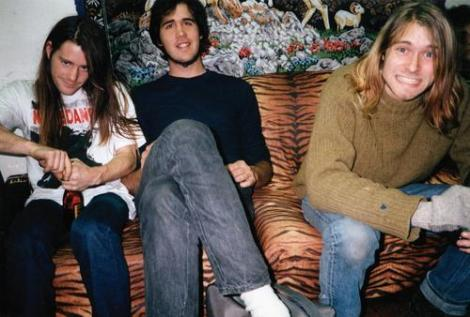 chad channing krist novoselic kurt cobain- nirvana (1988) - the eye of faith {vintage}