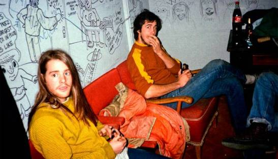 chad channing + krist novoselic- nirvana- the eye of faith {vintage}